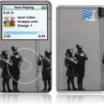 Banksy Tesco ipod Video Skin