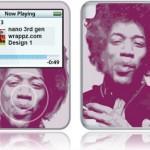 Hendrix iPod Nano 3rd gen Skin