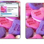 Pink Sweet Nothings iPod Skins
