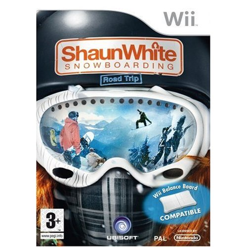 Shaun White Snowboarding Road Trip for Wii