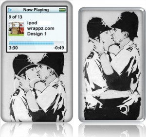 Banksy Police Skin for iPod Classic
