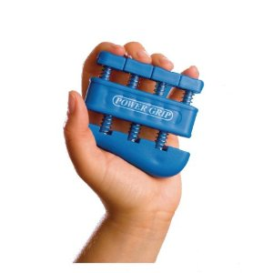 Power grip hand and wrist exerciser